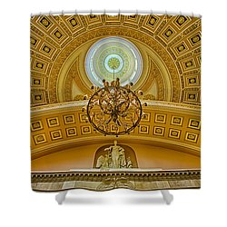 National Statuary Hall Shower Curtain by Susan Candelario