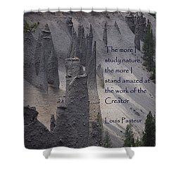 Nature Study Shower Curtain by Sharon Elliott