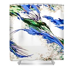 Nature's Essence Shower Curtain by Jan Law