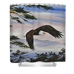 Natures Grandeur Shower Curtain by James Williamson