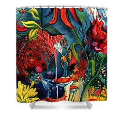 Natures Overature Shower Curtain by Genevieve Esson