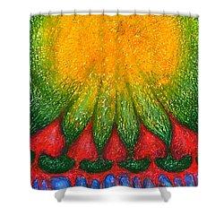 Nearer Sun Shower Curtain by Wojtek Kowalski