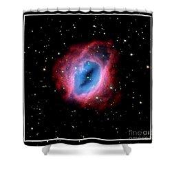 Nebula And Stars Nasa Shower Curtain by Rose Santuci-Sofranko