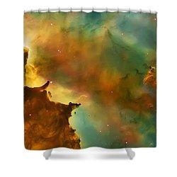 Nebula Cloud Shower Curtain by The  Vault - Jennifer Rondinelli Reilly
