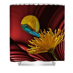 Nectar Of The Gods Shower Curtain by Barbara St Jean