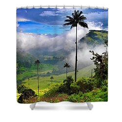 Nephilim Shower Curtain by Skip Hunt
