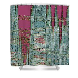 New Era Shower Curtain by Ben and Raisa Gertsberg