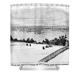New London, Connecticut Shower Curtain by Granger