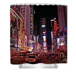 New York New York Shower Curtain by Angela Wright
