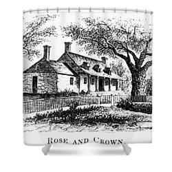 New York: Tavern, C1776 Shower Curtain by Granger