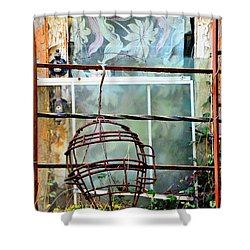 No Telling Shower Curtain by Newel Hunter