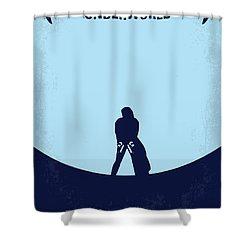 No122 My Underworld Minimal Movie Shower Curtain by Chungkong Art