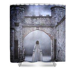 Noctambulism Shower Curtain by Joana Kruse