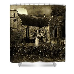 Not A Creature Was Stirring Shower Curtain by RC DeWinter