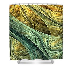 Nowhere Shower Curtain by Lourry Legarde