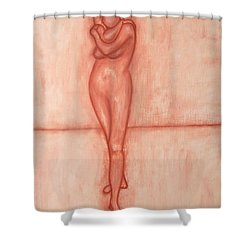 Nude 9 Shower Curtain by Patrick J Murphy