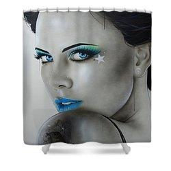 'nurture' Shower Curtain by Christian Chapman Art
