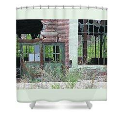 Obsolete Shower Curtain by Ann Horn