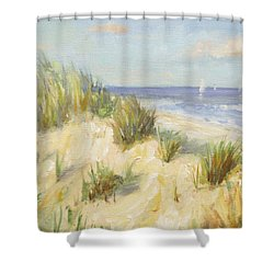 Ocean Dunes Shower Curtain by Sarah Parks