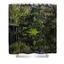 Off The Beaten Path Shower Curtain by Judy Hall-Folde