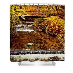 Okanagan Autumn Shower Curtain by Kathy Bassett