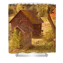 Old Blacksmiths Shop  Shower Curtain by Jeff Swan
