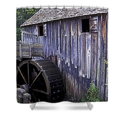 Old Cades Cove Mill Shower Curtain by Paul W Faust -  Impressions of Light