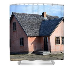 Old Mormon Home Shower Curtain by Kathleen Struckle