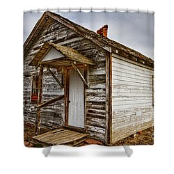 Old Rustic Rural Country Farm House Shower Curtain by James BO  Insogna