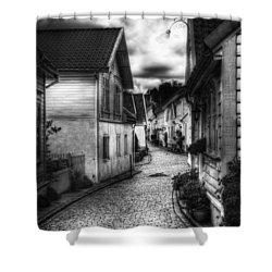 Old Stavanger Part II Shower Curtain by Erik Brede