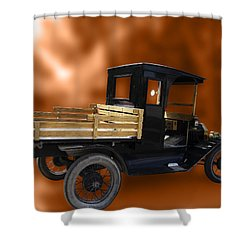 Old Truck Shower Curtain by Jo-Anne Gazo-McKim