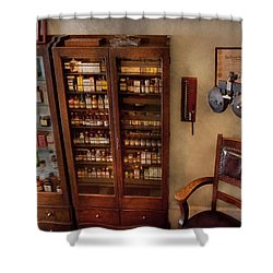 Optometrist - The Optometrists Office Shower Curtain by Mike Savad
