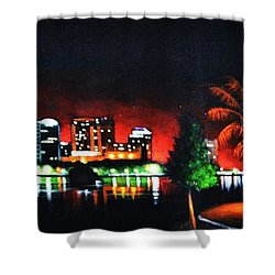 Orlando Shower Curtain by Thomas Kolendra