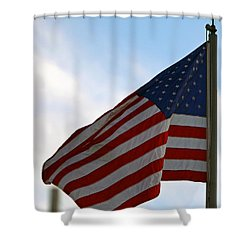 Our Flag Was Still There Shower Curtain by Shoal Hollingsworth