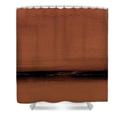 Our Oceans  The Continental Dividers  Number 1133-1 Shower Curtain by Diane Strain