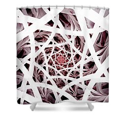 Out Of Reach Shower Curtain by Anastasiya Malakhova