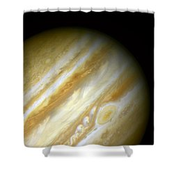 Outer Space Three Zero Six Shower Curtain by Nasa Usgs