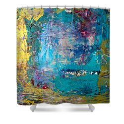Overture Shower Curtain by Mary Sullivan