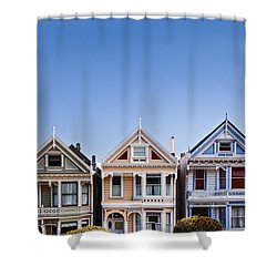 Painted Ladies Shower Curtain by Dave Bowman