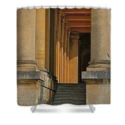 Palace Step Shower Curtain by Joseph Yarbrough