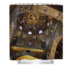 Palatine Chapel Shower Curtain by RicardMN Photography