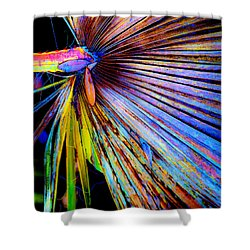 Palmetto Gone Wild Shower Curtain by Stephen Anderson