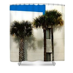 Palms Shower Curtain by Bruce Lennon