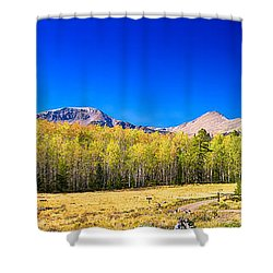 Panorama Autumn Bonanza Shower Curtain by James BO  Insogna
