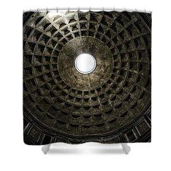 Pantheon Oculus Shower Curtain by Joan Carroll