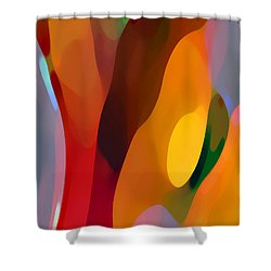 Paradise Found 3 Tall Shower Curtain by Amy Vangsgard