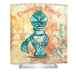 Parfum Shower Curtain by Debbie DeWitt
