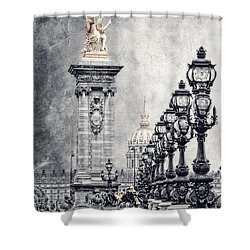 Paris Pompous 2 Shower Curtain by Joachim G Pinkawa