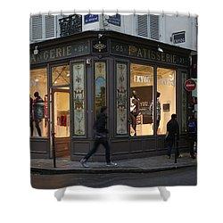 Parisian Evolution Shower Curtain by Randi Shenkman