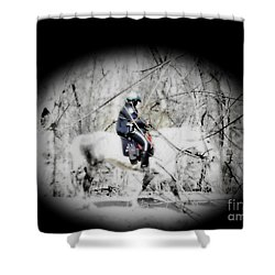 Park Police Shower Curtain by Rrrose Pix
